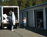 Local storage facilities of South Sound, Olympia, Tumwater, Thurston County, WA